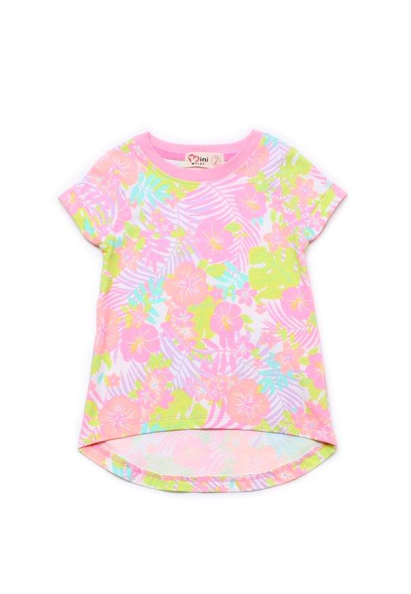 Floral Print T-Shirt PINK (Girl's Top)
