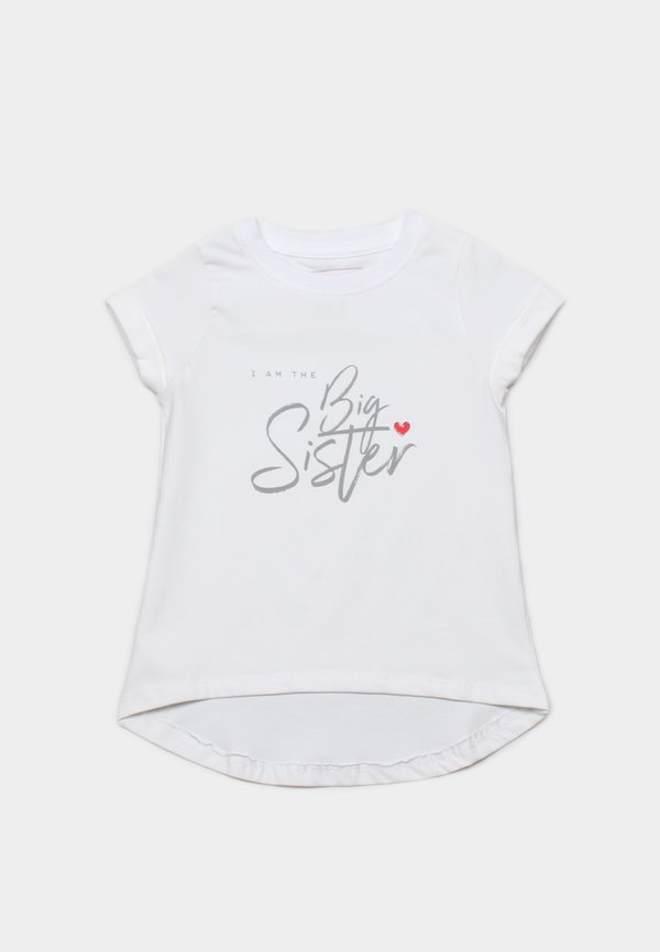 BIG SISTER T-Shirt WHITE (Girl's Top)