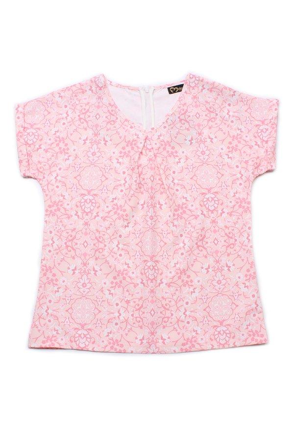 Floral Print Blouse PINK (Ladies' Top)