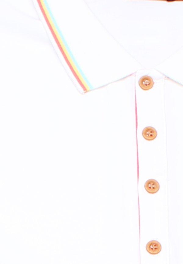 Tri Tipped Polo Shift Dress WHITE (Ladies' Dress)