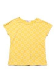 Design Circles Print T-Shirt YELLOW (Girl's Top)