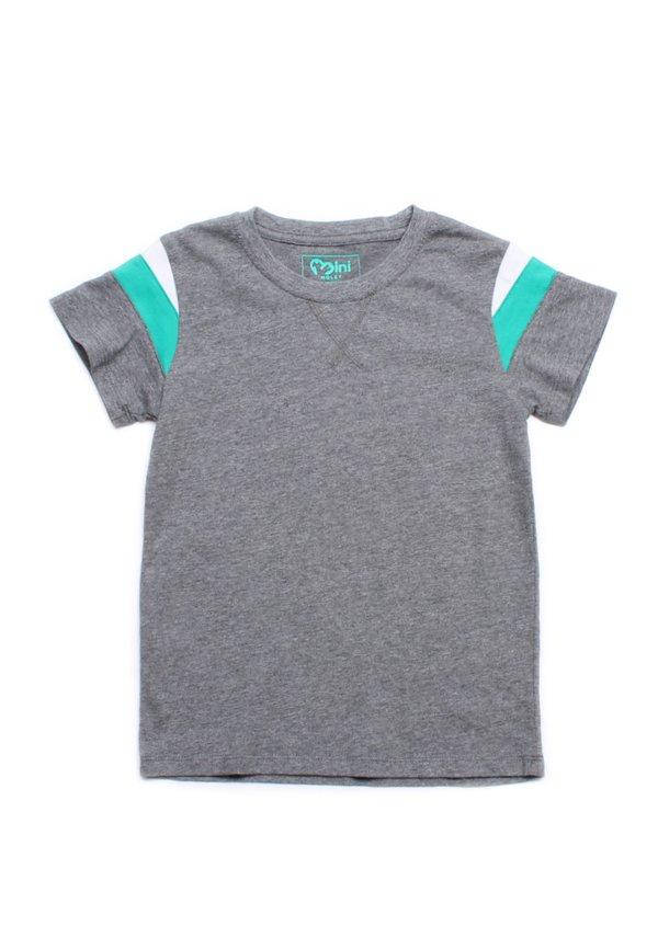 Colour Block T-Shirt GREY (Boy's T-Shirt)
