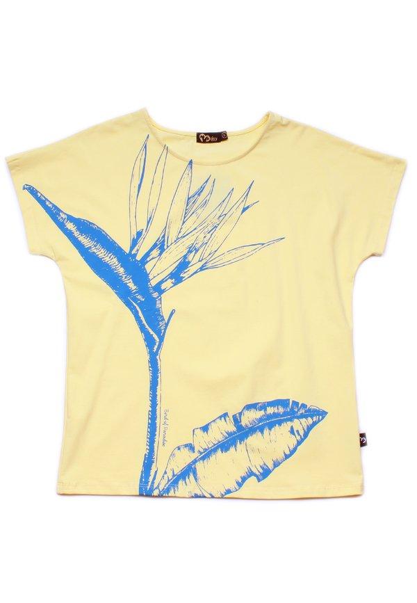 Bird Of Paradise Blouse YELLOW (Ladies' Top)