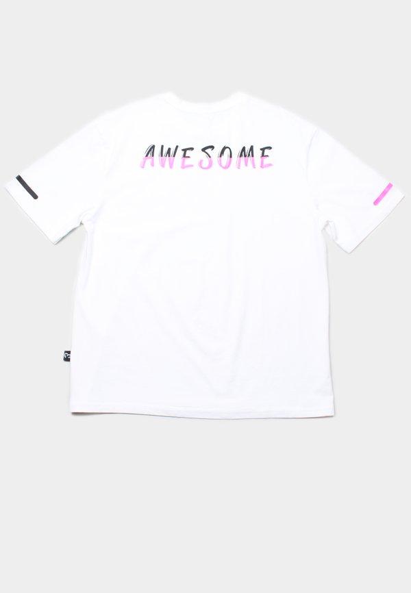 AWESOME Oversized T-Shirt WHITE (Men's T-Shirt)