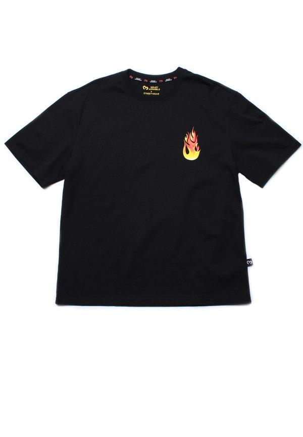 PASSION Oversized T-Shirt BLACK (Men's T-Shirt)