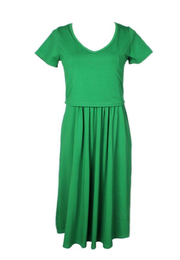 Classic Nursing Skater Dress GREEN (Ladies' Dress)