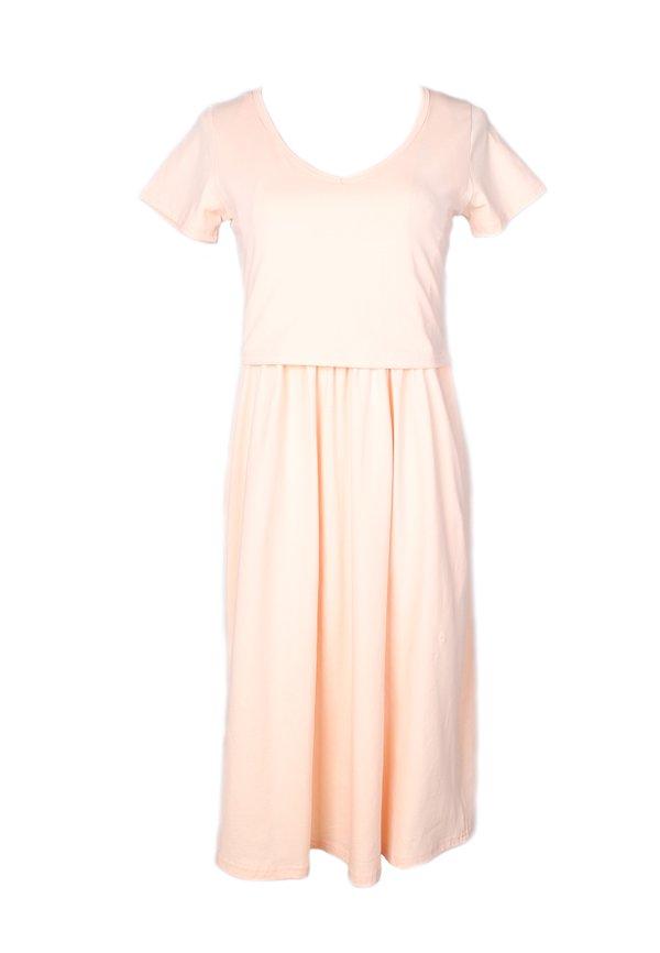 Classic Nursing Skater Dress PINK (Ladies' Dress)