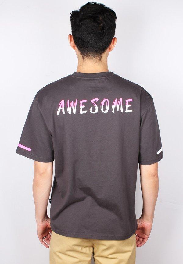 AWESOME Oversized T-Shirt DARKGREY (Men's T-Shirt)