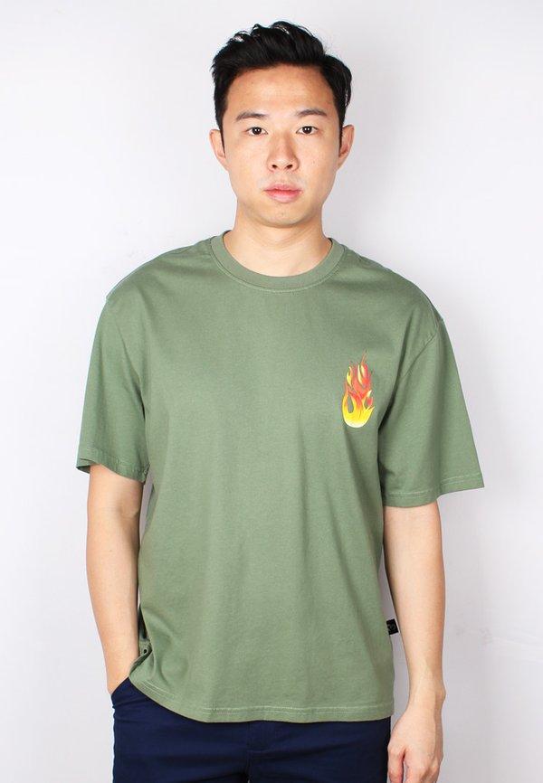 PASSION Oversized T-Shirt GREEN (Men's T-Shirt)
