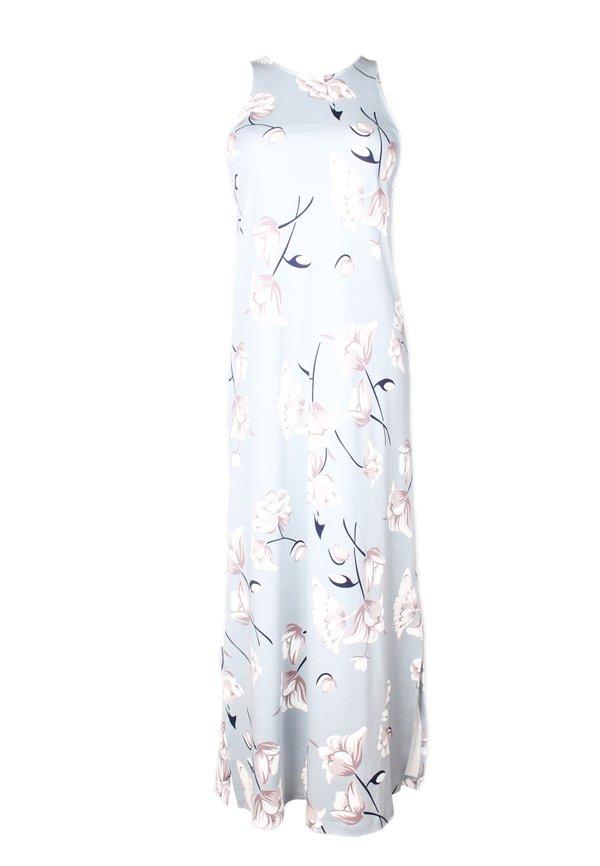 Floral Print Midi Dress BLUE (Ladies' Dress)