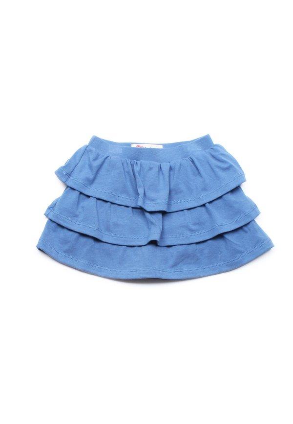 3 Tier Skirt BLUE (Girl's Bottom)
