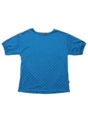 Polka Dots Print Blouse BLUE (Ladies' Top)