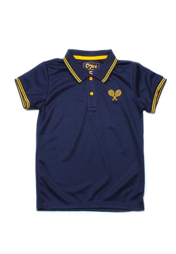 Racquet Sports Polo T-Shirt NAVY (Boy's T-Shirt)