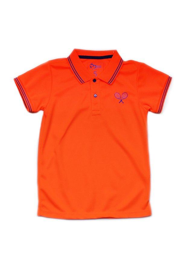 Racquet Sports Polo T-Shirt ORANGE (Boy's T-Shirt)